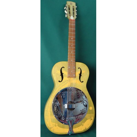Dobro Duolian Hula Blues Resonator Guitar