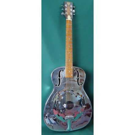 Dobro Model 90 Used Metal Body Resonator Guitar