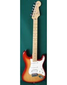 Fender USA American  Standard Stratocaster S-1 Switch Sienna burst Sunburst  C2003 Used Electric Guitar