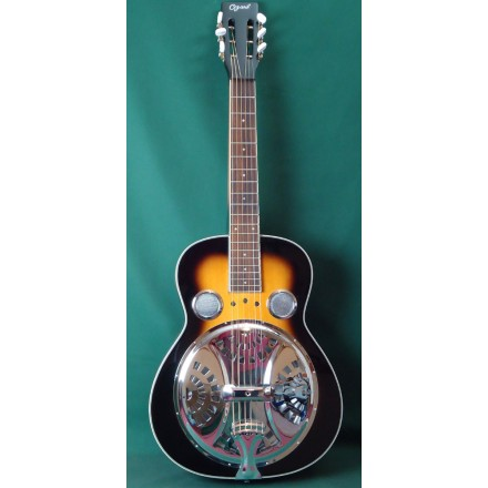 Ozark 3515SQ New SQ Neck Resonator Wooden Body Guitar