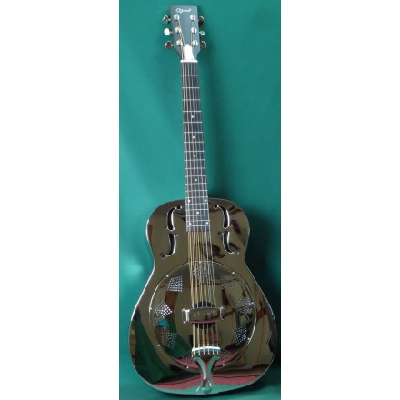 Ozark 3515N Nickel plated Resonator Guitar